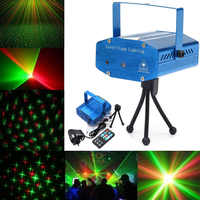 LED Lights Sound Activated Disco DJ Party Light Mini Auto Flash Stage Lights with Remote Control WWO66