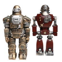 Промышленный ветер Железный человек войны Робот творческий американский ретро механические предметы мебели Бар украшения дома