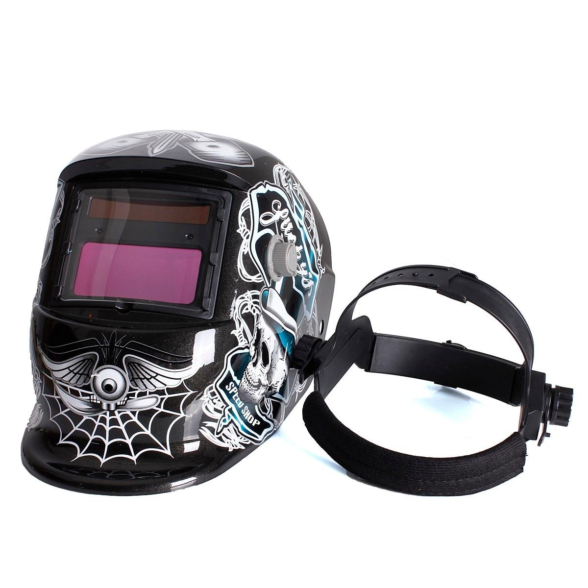 Hot Durable Solar Auto Darkening Welding Helmet ARC TIG MIG Weld For Welder Lens Grinding Mask High Quality jackson pearce sisters red