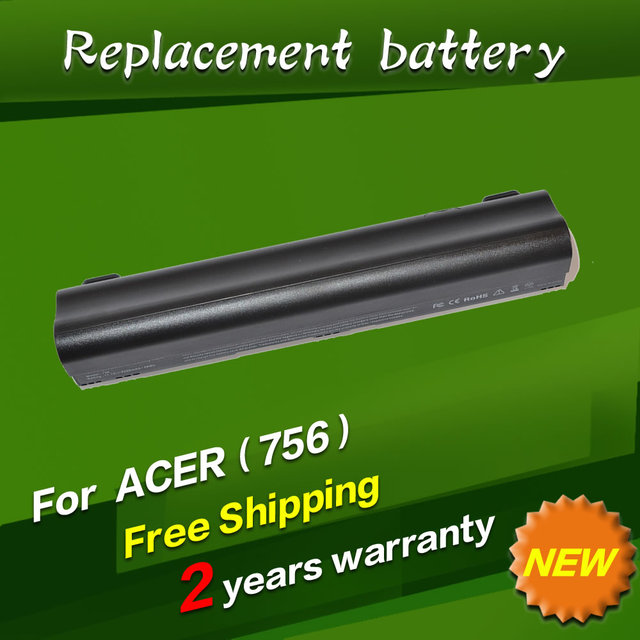 JIGU Аккумулятор Для Ноутбука Acer Aspire One 725 756 V5-171 AL12X32 AL12A31 AL12B31 AL12B32 TravelMate B113 B113M C710 Chromebook