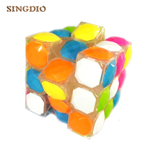 SINGDIO 3x3x3 puzzle magic cube Profesional Magic Cast Coated 3 * 3 Kecepatan Cube Learning Pendidikan IQ Mainan Anak-anak Magic Cube