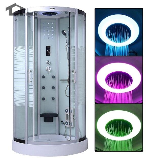 90 cm dampfdusche Kabine Massage duschkabinen bad douche kabine - badezimmer 90 cm