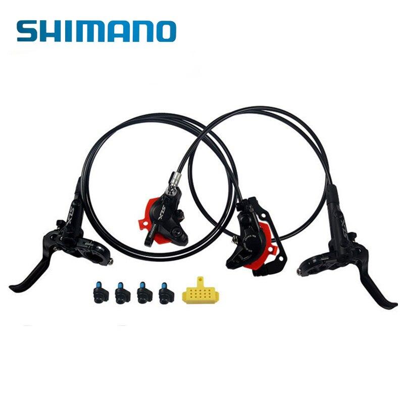 Kit de frein de vélo hydraulique SHIMANO SLX BR M7000 ensemble frein à disque Kit avant amp arrière pour vélo vtt pièces de vélo de route