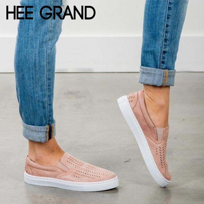 HEE GRAND Women Breathing Flats 2018 New