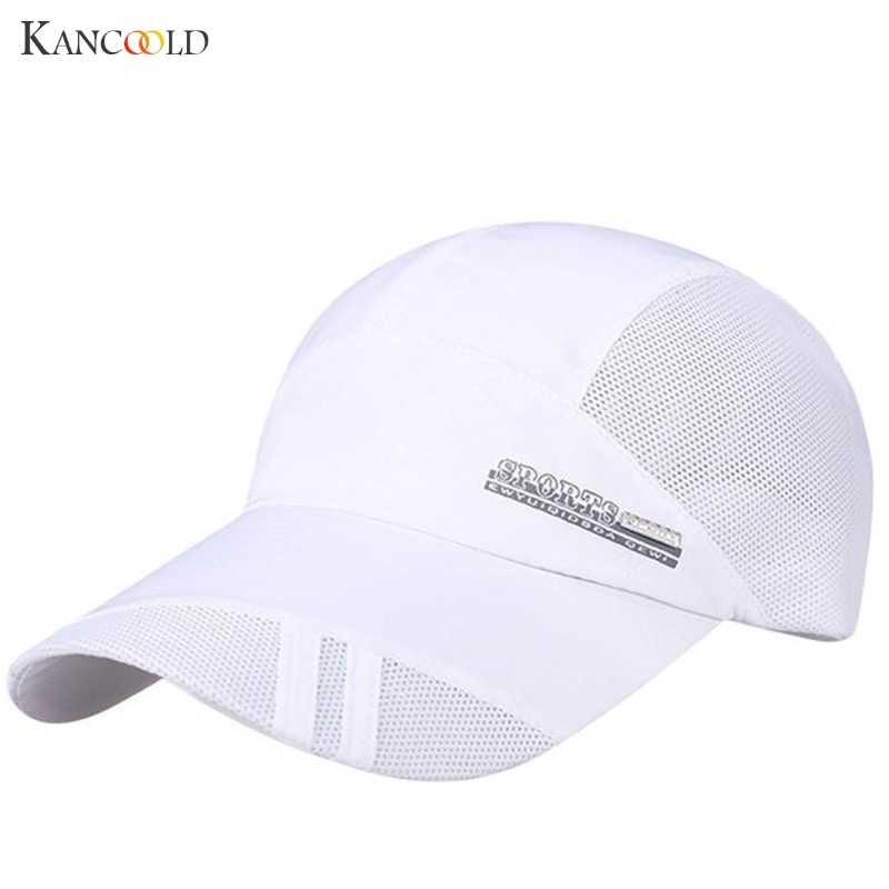2017 Spring Fashion Brand Hat Women Men Mesh Hat Quick-Dry Collapsible Sun Hat For Unisex Sunscreen Baseball Cap De142