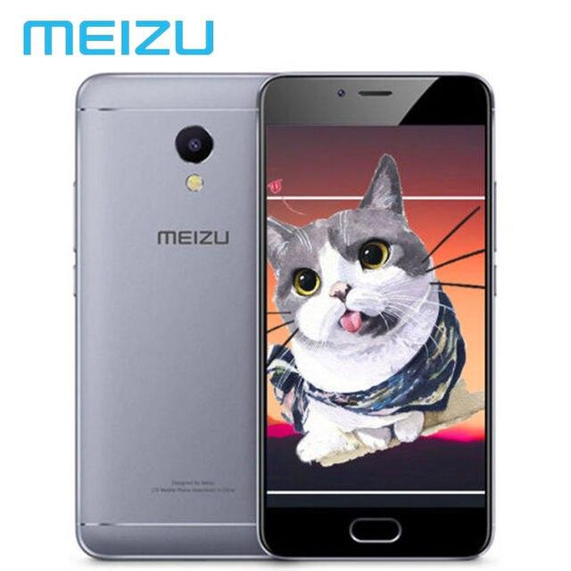 """На Складе Meizu M5s 3 ГБ 16 ГБ 32 ГБ Мобильный Телефон Android MTK Окта основные 5.2 """"3000 мАч Сотовой отпечатков пальцев Быстрая зарядка Multi Languages"""