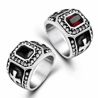 2018 New Style Fashion Jewelry Stainless Steel Couples Engagement & Wedding Ring Size 7 12#137