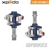 Xpedo MTB горный велосипед педали XMF07AC самоблокирующиеся велосипедные подшипники педали Сверхлегкий 289 г XPD клипса bicicleta клип