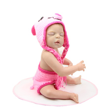 22 Inch Reborn Baby Dolls Full Body Silicone Vinyl Collectible Newborn Baby Girl Kids Birthday Christmas Gift