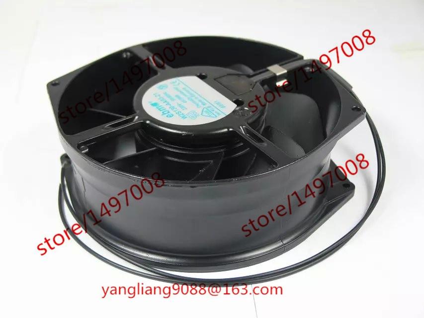 ebmpapst W2S130-AA03-21 AC 230V 39W Server Round fan original ebmpapst 1120ntd tc 220 230v 16w 19w cooling fan