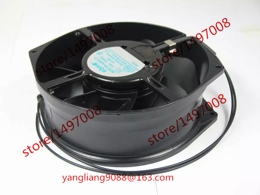 Free Shipping For ebmpapst W2S130-AA03-21 AC 230V 39W 2-wire 100mm  Server Round Cooling fan free shipping new uf 15pc23 bth ac 230v 29w 172x150x51 server round cooling fan