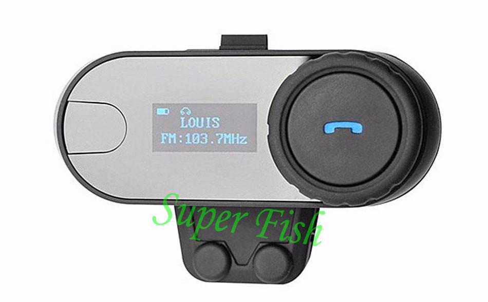 LCD screen BT Bluetooth Helmet Intercom