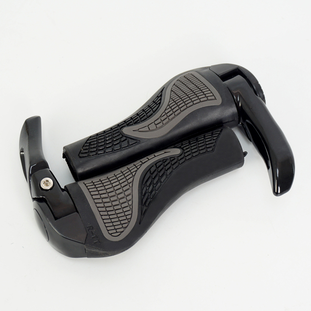 Cycling Grips Bicycle Mountain Bike Handlebar Grips Rubber