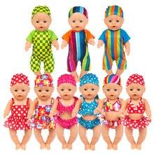 730b82567f8013 Gelukkig Elfin Baby Pasgeboren Pop Accessoires 18 inches 43 cm jongen badpak  poppenkleertjes Voor Chirdern Verjaardagscadeau