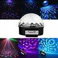 СВЕТОДИОДНЫЙ Шар Магического света, Профессиональный Этап Голосовое Управление Огни MP3 Дистанционного Цифровой RGB DJ Party Disco Освещение Сцены Звук Активность