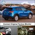 Камеры автомобиля Соединение Заводской Экран/Монитор Для Mazda CX 5 CX-5 CX5 2012 ~ 2015 Высокое Качество Заднего Вида Резервное Копирование Камеры