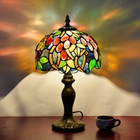TUDA 2017 LED Table Lamp Mail Luxury European Style Creative Personality Art Glass Table Lamp