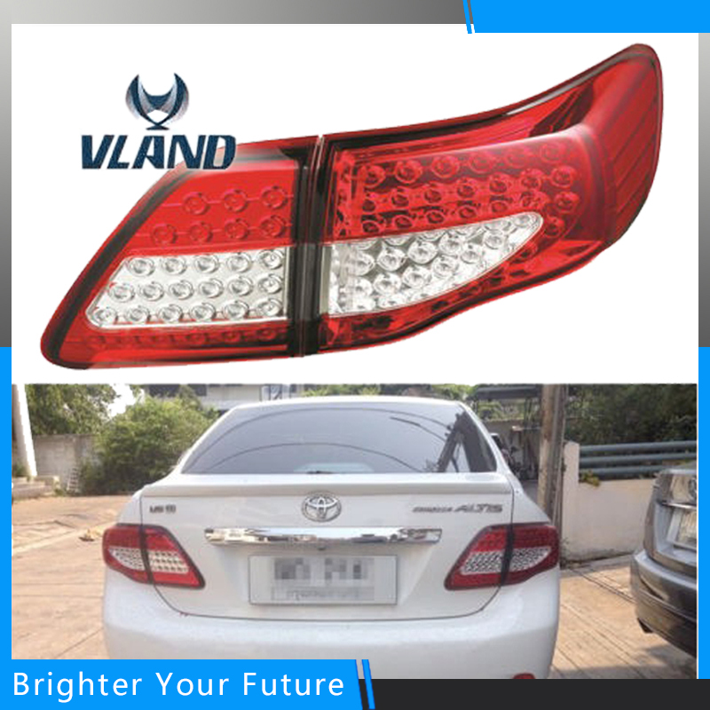 Car Styling Tail Lamp for Toyota Corolla 2008 2009 2010 2011 Brake Signal Tail Light Stop Rear Lamps