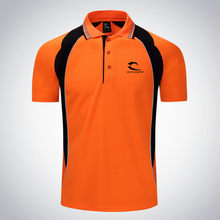 Men Tennis clothing male Run jogging Outdoor sports workout badminton Quick-dry t shirt Short Sleeve Table tennis polo clothes(China)