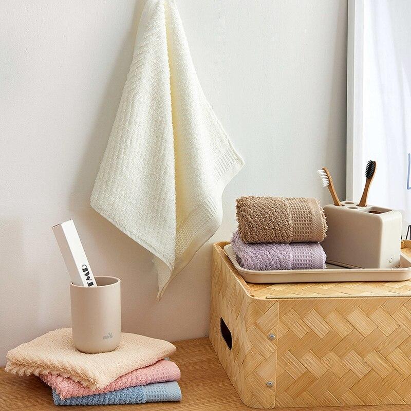 J pinno Baumwolle Bad Hand Handtuch 3 stücke zusammen in einem paket size78 * 35 cm Weiche Komfortable rosa weiß lila braun blau Venus