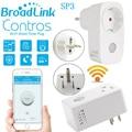 Original broadlink 16a sp3 sp cc + temporizador ue eua mini wifi plug tomada de controle remoto inteligente controles sem fio para iphone ipad Android