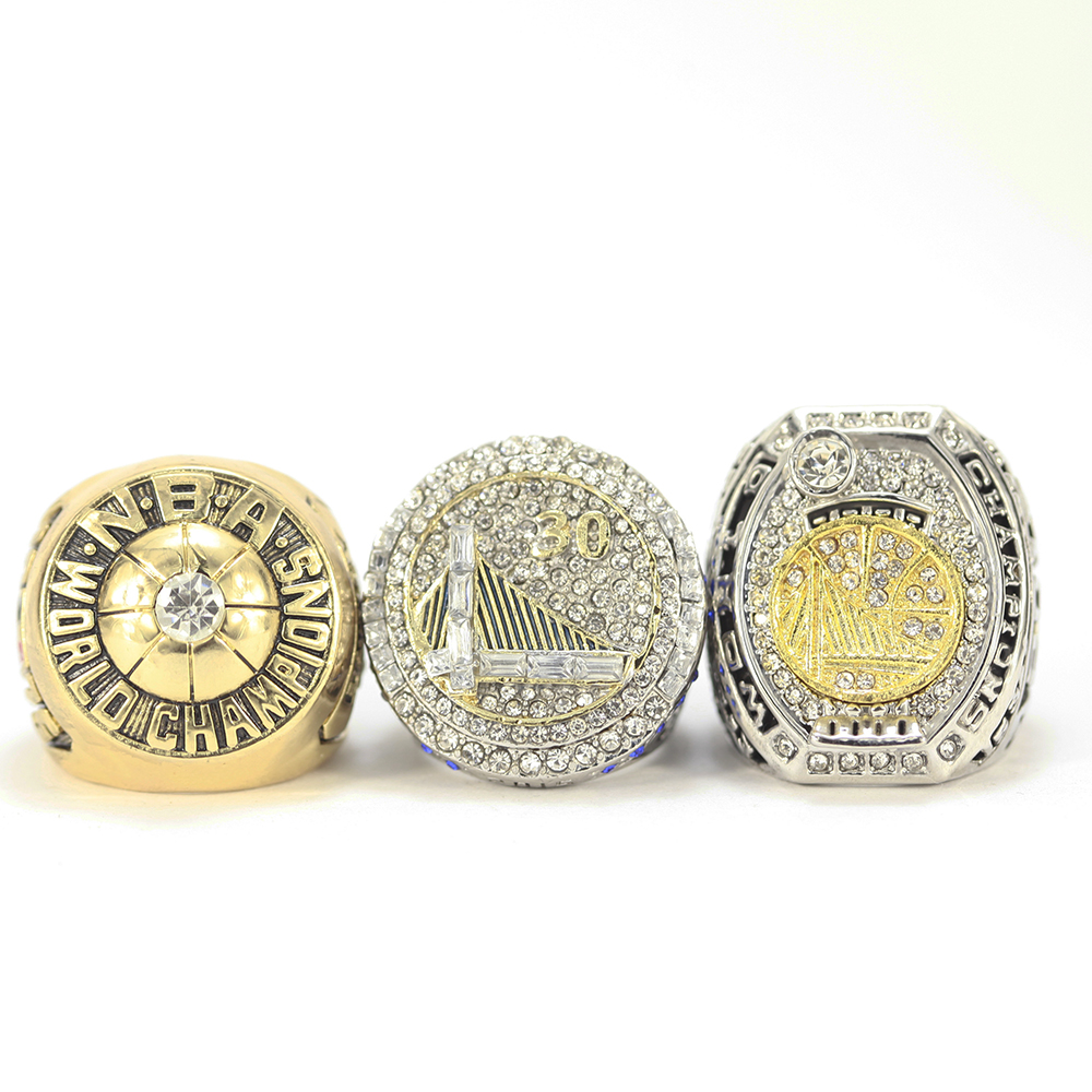 3Pcs/set 1975 2015 2017 Golden State Warriors National ...