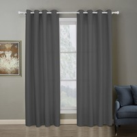 New Purple Gray Beige Color Cloth+Voile Curtains For Living Room Top Grade Decoration And Blackout Double Layer Window Curtain