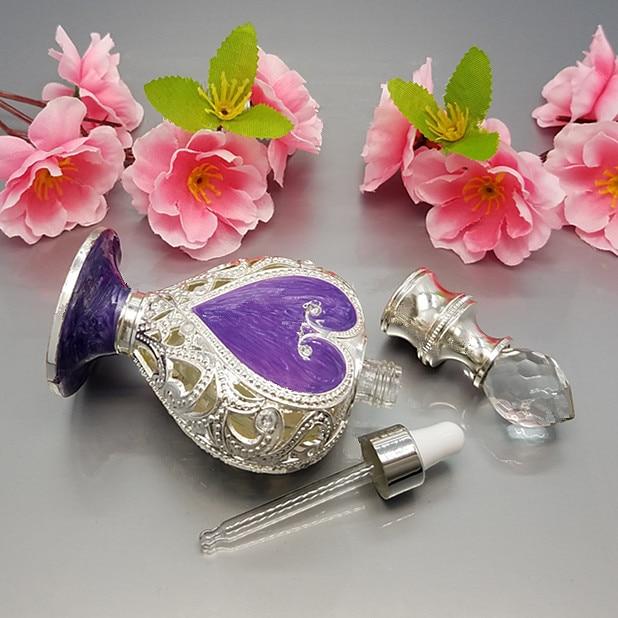 10 ml Musilm Islamitische goud / zilver Drop essentiële fles oogglas - Huidverzorgingstools - Foto 4