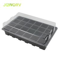 [5Set] 24 hole nursery box Grow Box Propagation seed plant nursery pots for flowers seedling raising bags Garden Supplies