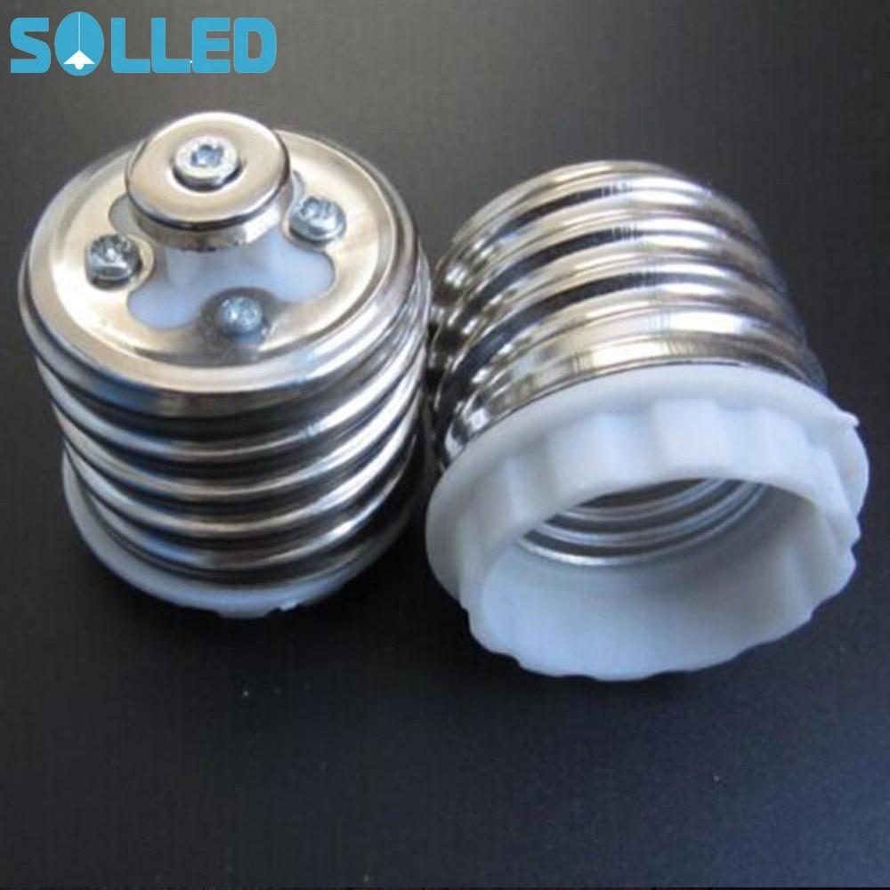 SOLLED Exquisite E40 To E27 Converter Lamp Holder LED Light Bulb Base