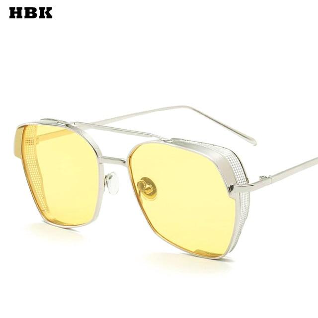 HBK Clássico Aviador Óculos De Sol Das Mulheres Marca de Luxo Oceano  Gradiente Pontos De Óculos 7f8bbca35c
