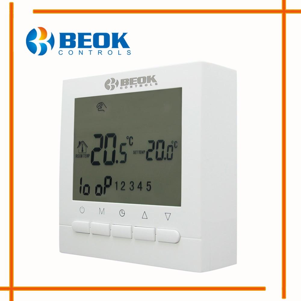 BOT 313W Programmierbare Batterie Zimmer Digitaler Thermostat für ...