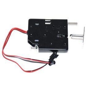 Image 3 - 5 pcs dc 12 v 2a 솔레노이드 전기 제어 캐비닛 서랍 로커 잠금 신호 피드백 및 자동 개방 pudsh push 디자인