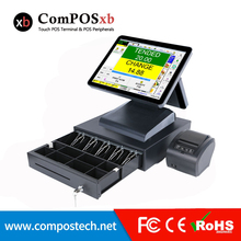 Brand new 15 inch TFT LCD Whole set POS1619D pos machine Epos restaurant/fastfood pos