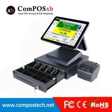 Brand new 15 inch TFT LCD Whole set POS1619D pos machine Epos restaurant/fastfood pos