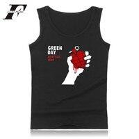 2017 LUCKYFRIDAYF Green Day Fitness Bodybuilding Tank Top Men Women Clothing American Idiot Summer Soft Sleeveless