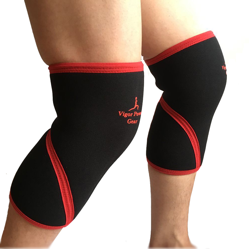 VigorPower Gear 30cm long sleeves weight lifting knee sleeves for powerlifting,crossfit Tight and strong neoprene knee supports