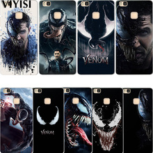 Venom Marvel For Huawei P20 Lite Case Mate 20 Pro X 9 10 P8 P9 P10 Coque Etui Fundas Cover Silicona casos para
