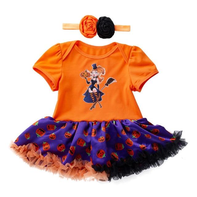 77271d97f Halloween Skull Newborn Toddler Kid Clothes Pumpkin Customes Baby ...