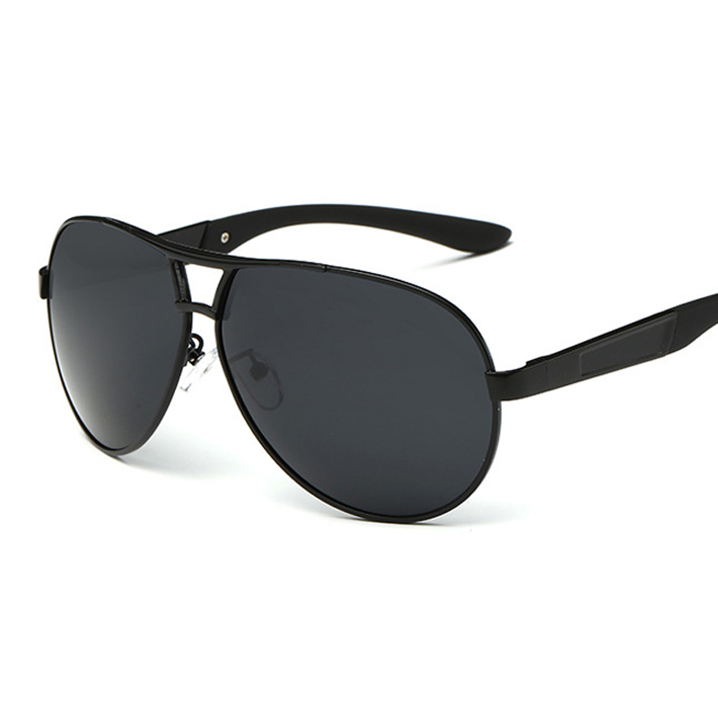 pilot Polarized heren zonnebril Polaroid Driving Zonnebril Heren piloot Zonnebril voor heren Merk Fashion retro Coating