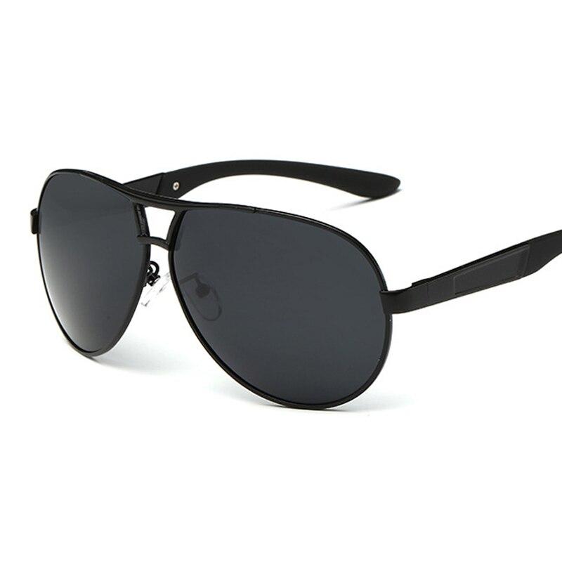 Pilot Polarized pria pria Sunglasses Pria Polaroid Mengemudi Kacamata Matahari Man percontohan Kacamata untuk pria Merek Fashion retro Coating