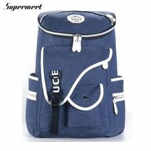 Supermeet школьные рюкзаки для девочек-подростков путешествия рюкзак Bagpack деним Mochila Feminina модные повседневные женские рюкзак сумки