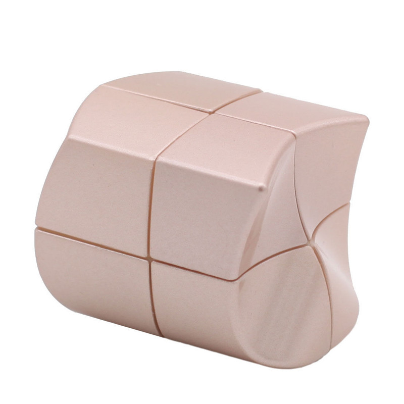 Magic Cubes Yuanfang 2x2 Magic Cube Yj Professional Contest Twist Puzzle Funny Rose Gold Puzzles & Games