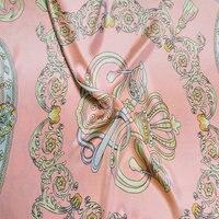 1606 новый дизайн оптом Широкий Ширина 240 см Отпечатано Pure шелковый атлас Ткань для постельных принадлежностей наволочки лист и пододеяльник