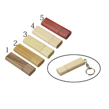 Customize Logo Wooden/Bamboo USB Flash Drive 128GB Pen Drive Wood Chips Pendrive 8GB 16GB 32GB Memory Stick Storage U Disk Flash