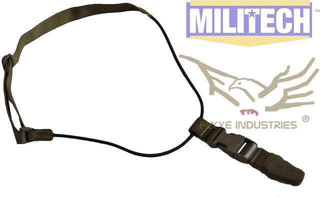 Especificação militar Coyote Brown CB Estilo GI MP7 Machine Gun Tactical Gun Sling Segurança FLYYE FY-SL-S008 Trabalho de Segurança Sling