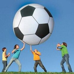 Супер большой надувной футбольный дизайн надувной пляжный игрушечный мяч спортивная игрушка ПВХ игровая площадка школа ребенок играть B38005