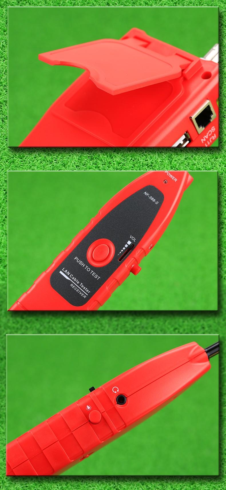 KELUSHI Multi-funcional Handheld Testador de Cabo testador