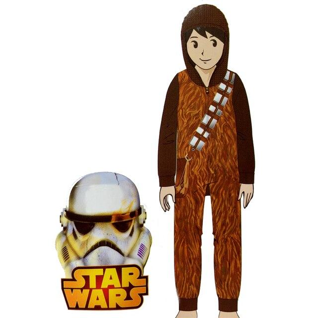 Star Wars I Am Chewie Chewbacca Furry Hoodie Onesie Cosplay Pajamas