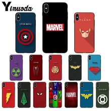 11pro MAX MARVEL LOGO Coque Shell Phone Case for Apple iPhone 8 7 6 6S Plus X XS MAX 5 5S SE XR Cover 11pro max marvel logo coque shell phone case for apple iphone 8 7 6 6s plus x xs max 5 5s se xr cover